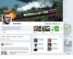 New Facebook Timeline Layout