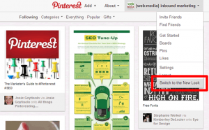 Pinterest New Look Link
