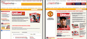 Manchester United Subscription Page