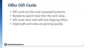 Gift Cards Popular with Recipients